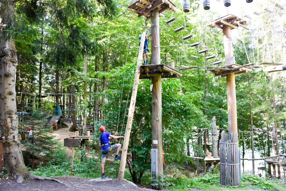 Ausflugstipp Erlebnisberg Golm Montafon Österreich Waldseilpark