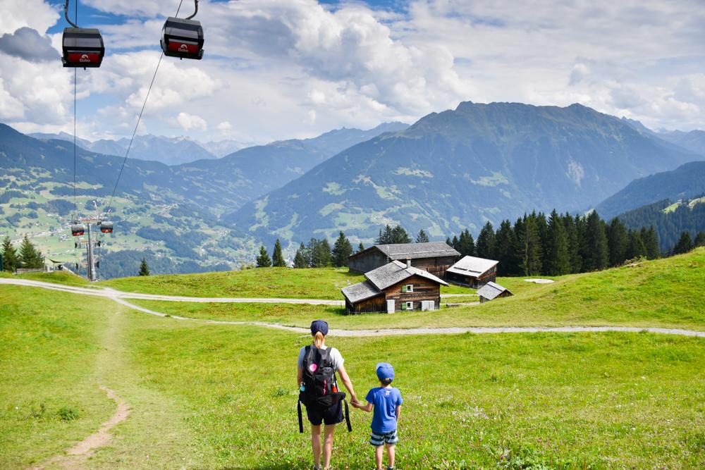 Ausflugstipp Erlebnisberg Golm Montafon Österreich