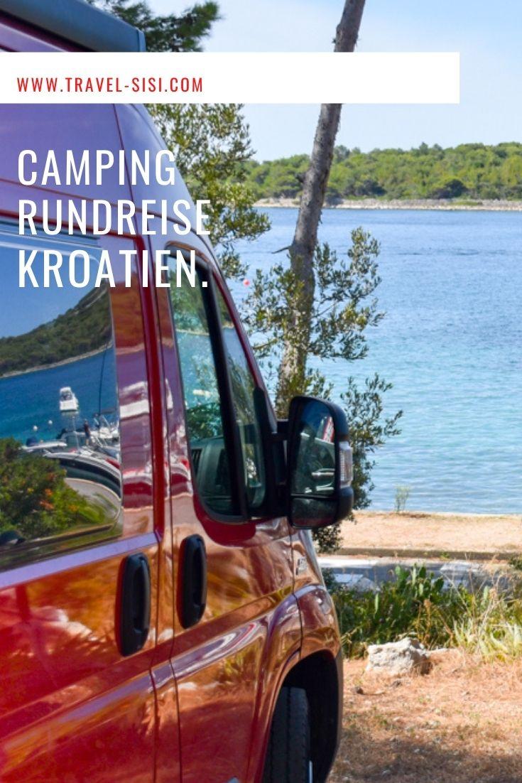 Camping Reise Kroatien Route Highlights Stellplätze