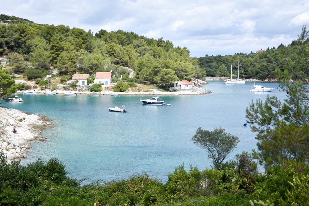 Camping Rundreise Kroatien Familie Badebucht Losinj