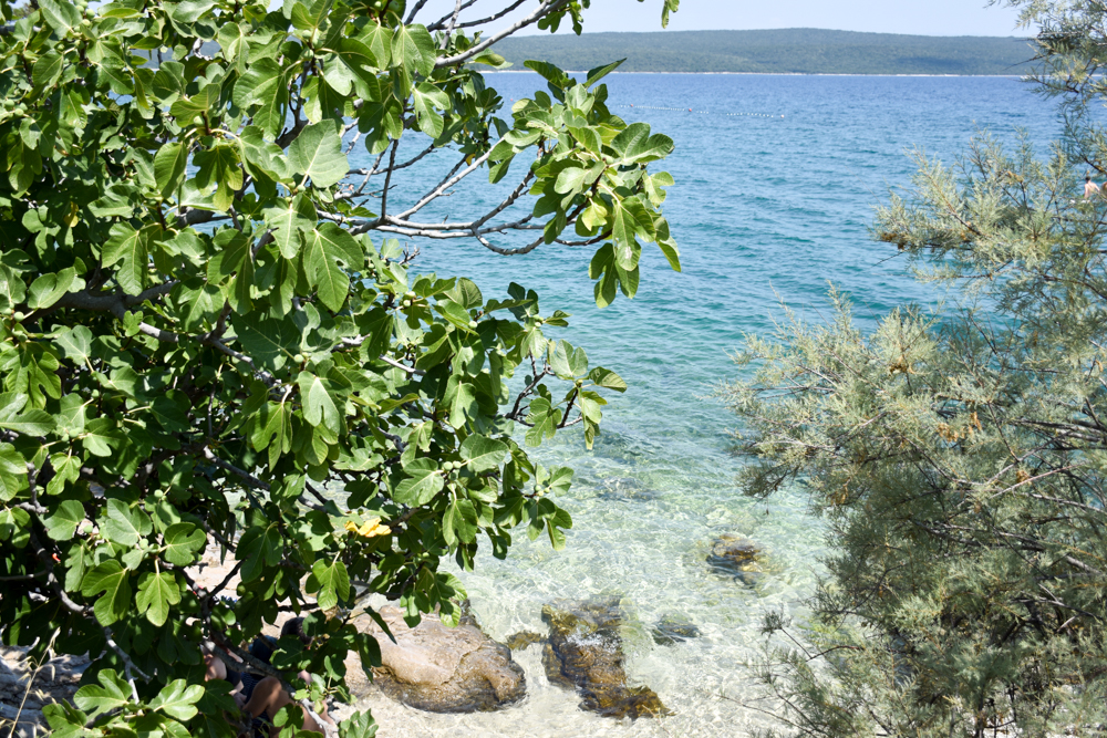 Camping Rundreise Kroatien Familie Badebucht Nerezine