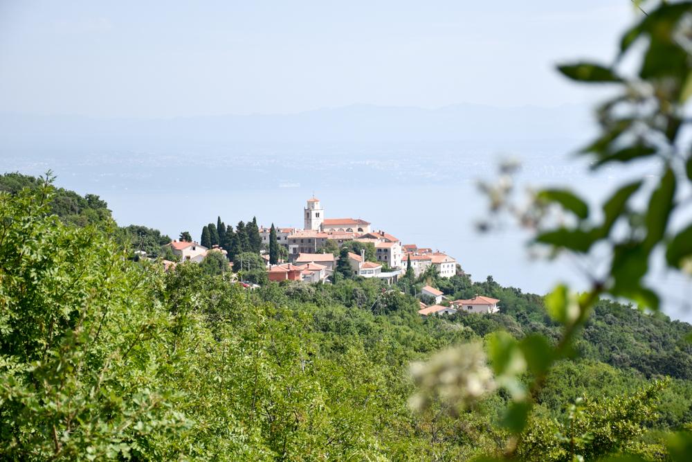 Camping Rundreise Kroatien Familie Moscenice Istrien
