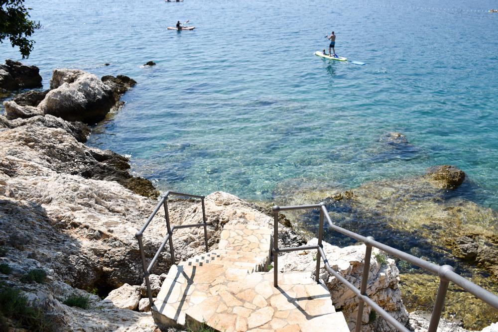 Camping Rundreise Kroatien Familie SUP Marina Camping Resort by Valamar Labin Istrien