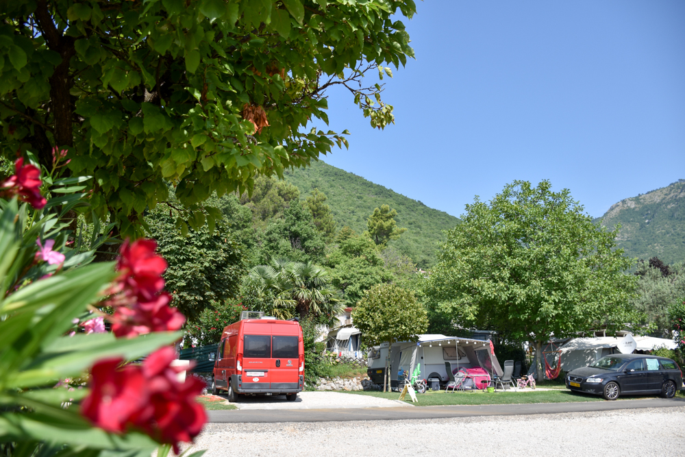 Camping Rundreise Kroatien Familie Stellplatz Draga Camping