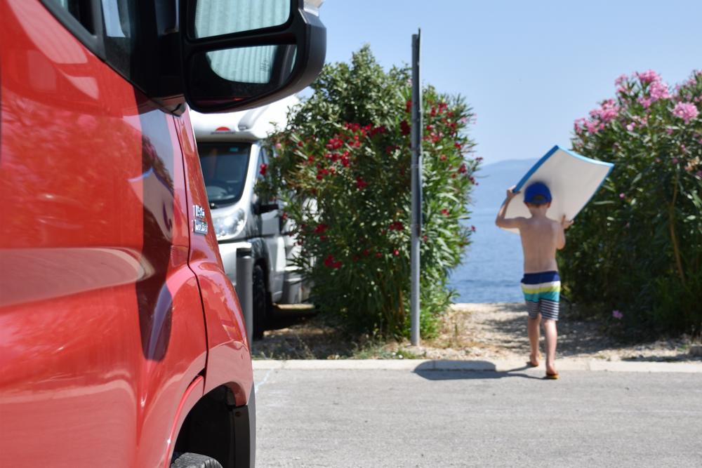Camping Rundreise Kroatien Familie Stellplatz Marina Camping Resort by Valamar Labin