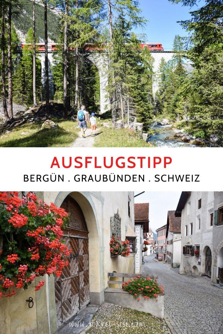 Ausflugstipp Bahnerlebnisweg Bergün Graubünden Schweiz