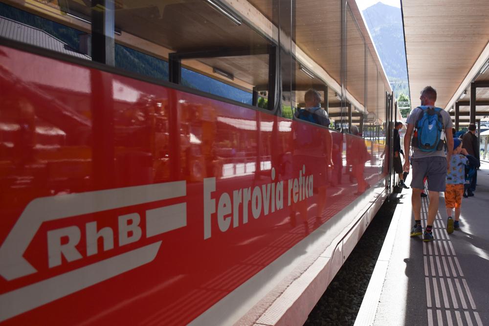 Ausflugstipp Bergün Graubünden Schweiz Rhätische Bahn Bergün Preda